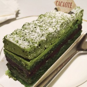 cacaote green tea opera