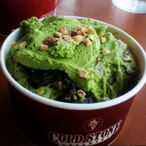 cold stone green tea